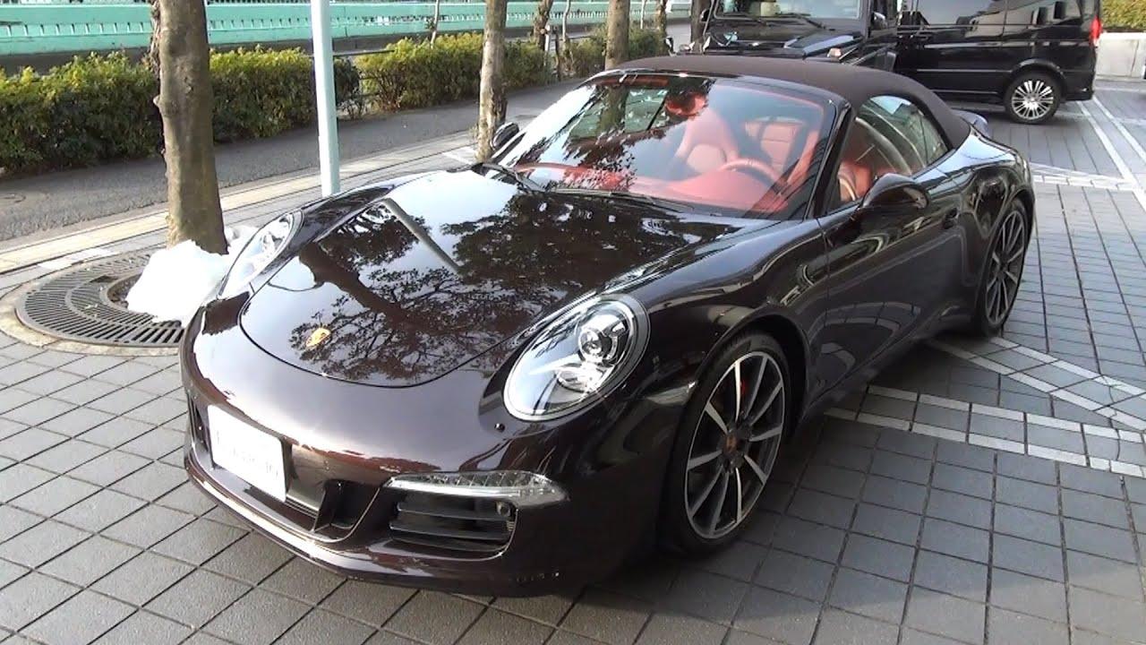 Ã�ルシェ・911 Â�レラsカブリオレ ĸ�古車試乗インプレッション Porsche 991 Carrera S