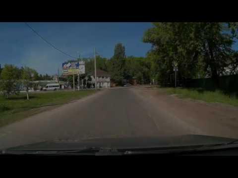 Самара. Дорога до МЕГИ от Петра Дубравы через Кошелев.