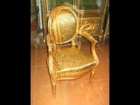 French Furniture, Antique, Upholstery, Austin, Texas, Fabric, Upholstered,  Chair,armchair   YouTube