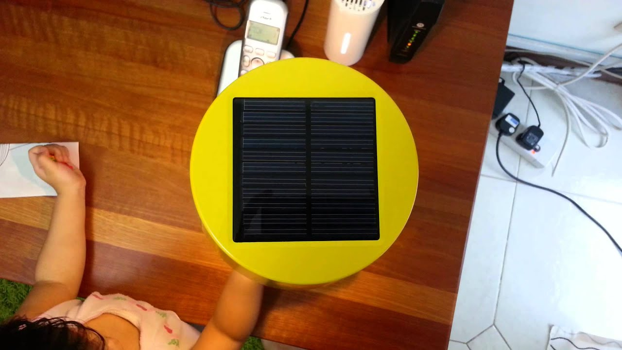 ikea solar powered table lamp youtube. Black Bedroom Furniture Sets. Home Design Ideas