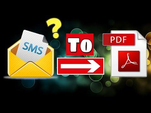 How To Convert Text To PDF File | Kisi Bhi Text Or Message Ko PDF Kaise Banaye | #71 ||