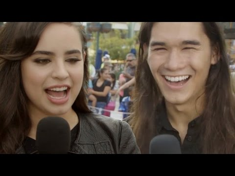 Descendants Cast Plays Would You Rather?