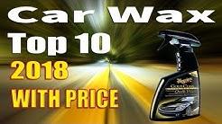 Top 10 Best Car Wax