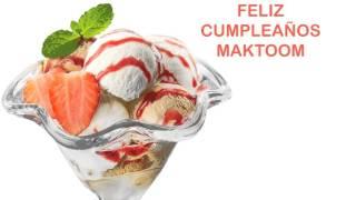 Maktoom   Ice Cream & Helado