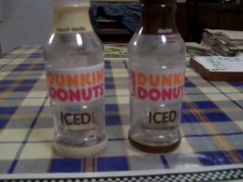 Dunkin Donuts Bottled Iced Coffee ReviewMocha French Vanilla