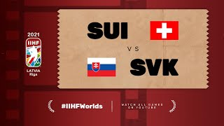 Highlights: SWITZERLAND vs SLOVAKIA | 2021 #IIHFWorlds