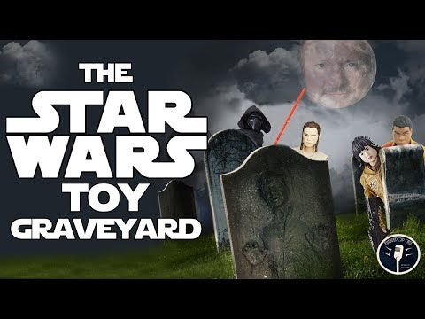 The Star Wars Toy Graveyard - Where The Force Goes to Die.