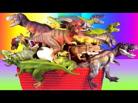 DINOSAUR Box Tyrannosaurus rex Toy Collection Jurassic World T rex Toy Review