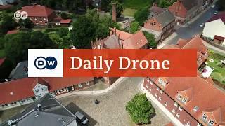 #DailyDrone: Wittenberge an der Elbe