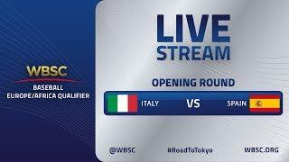 Italy v Spain - Baseball Europe/Africa Olympic Qualifier