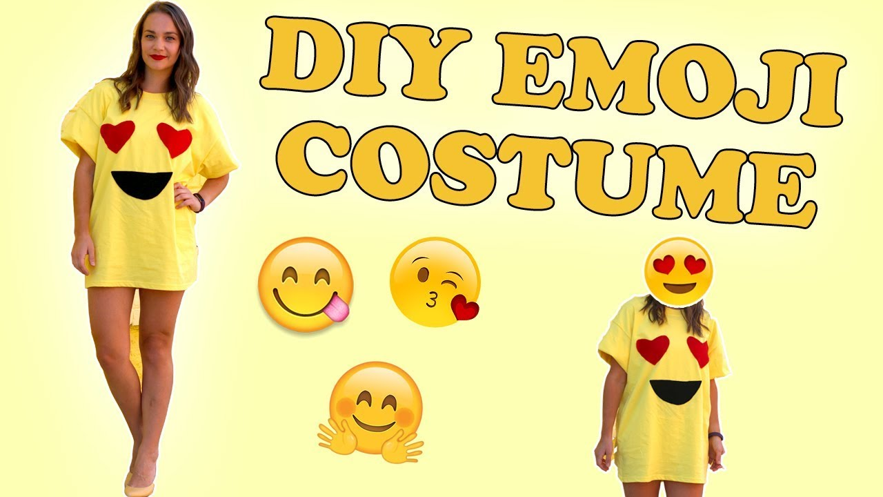 Diy dollarstore halloween costume emoji halloween costume easy diy dollarstore halloween costume emoji halloween costume easy solutioingenieria Gallery