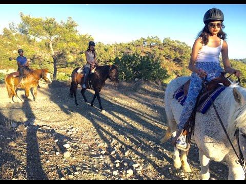 Horse Riding, Elpida Ranch, Rhodes, July 2016. Amazing