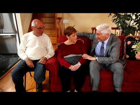 10 years of following an Alzheimer's patient and her caregiver