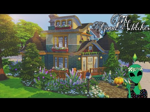 The Good Witches 🔮 || Speed Build | Sims 4