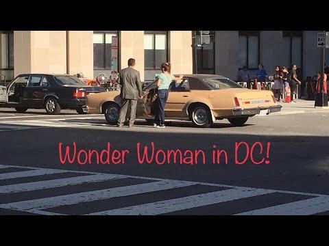 Wonder Woman 1984 Filming Near White House / The Smithsonian Pollinator Garden