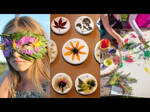 Easy Nature Crafts & Design Ideas For Kids