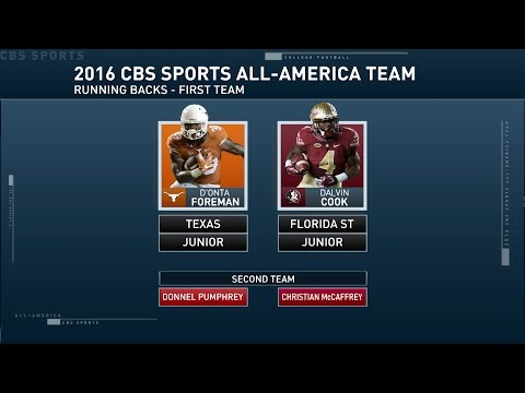 Inside College Football: All-American running backs