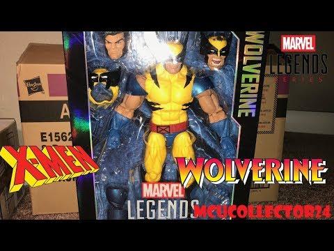 Marvel Legends 12 inch WOLVERINE close look & Black Panther Wave pick up