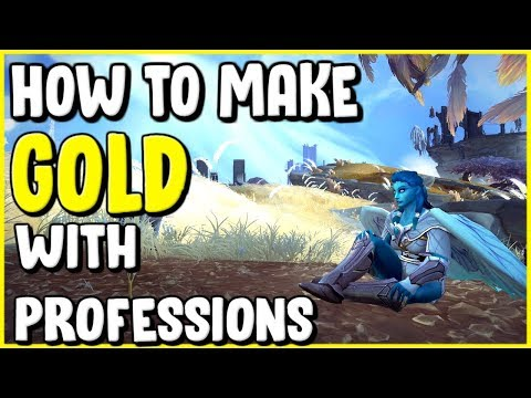 How To Make Gold With Crafting Professions In WoW BFA 8.2.5 - Gold Making, Gold Farming
