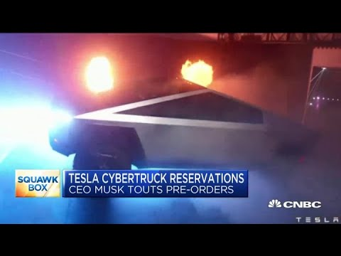 Tesla CEO Elon Musk: There have been 200,000 Cybertruck reservations