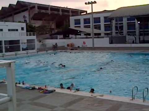 Piscina ol mpica barranquilla colombia youtube for Cerramiento para piscinas colombia