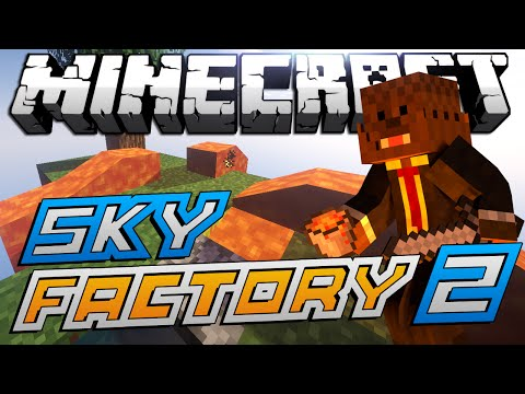 "Minecraft Modded Sky Factory ""SHOW ME THE IRON"" Lets Play #2"