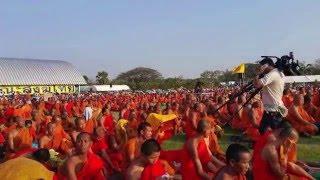 thailand news thai news 2016 buddhist s gathering for justice in buddhamonthon 15 02 2016