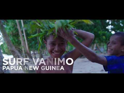 Surfing Vanimo, Papua New Guinea