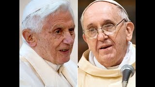 POPE FRANCIS INSULTS POPE BENEDICT 16th in a HIDDEN WAY