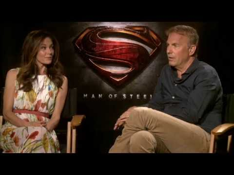 Kevin Costner and Diane Lane Interview - Man of Steel