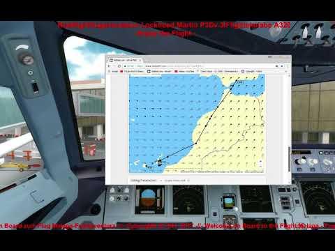 Malaga - Fuerteventura P3Dv34 CyborgNX