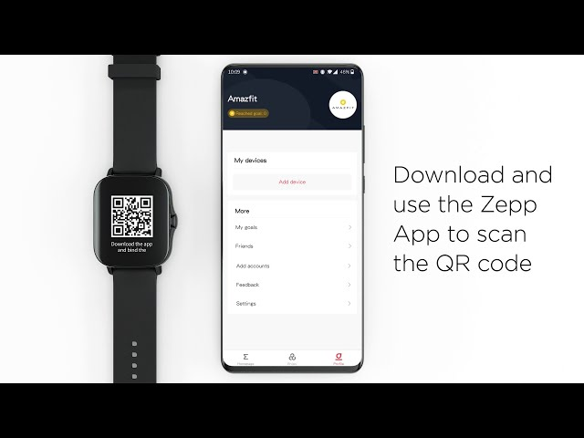 Support: Pairing an Amazfit GTS 2 smartwatch with the Zepp App