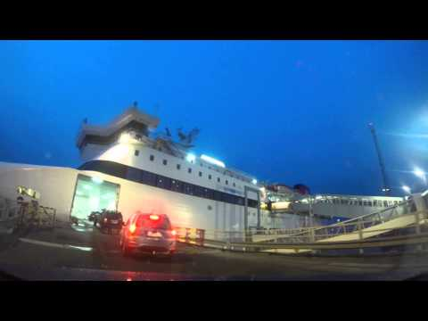 Gotland január.2015 part74 vjazd do lode