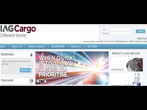 IAG Cargo Tracking,IAG Air Cargo Tracking Status