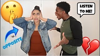Doing The OPPOSITE Of EVERYTHING My Boyfriend Says For 24 Hours!