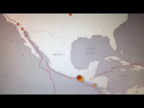 Mexico Earthquake 8.2 Richter Scale USGS