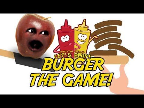 Midget Apple Plays - BURGER: The Game