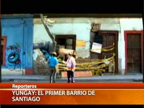 Barrio Yungay, Primer barrio de santiago - reportaje canal 13 .