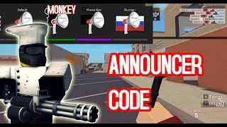 NEW VOICE PACK | Roblox Arsenal