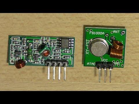 Funkmodul - Arduino Tutorial (Allgemeines, Verkabelung, Code & Mehr) [1080p Full HD - German]