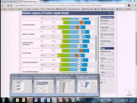 Visualizing Survey Data using Tableau
