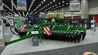 Great Plains Exhibit at the 2016 National Farm Machinery Show.