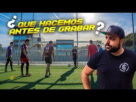 ¿A QUÉ JUGAMOS ANTES DE GRABAR? ¡Retos de fútbol! [Crazy Crew]