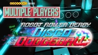 Robot Roller-Derby Disco Dodgeball - Multiple Players