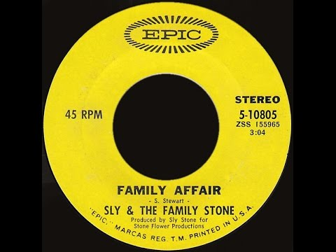 Sly & The Family Stone ~ Family Affair 1971 Disco Purrfection Version