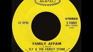 Скачать Sly The Family Stone Family Affair 1971 Disco Purrfection Version