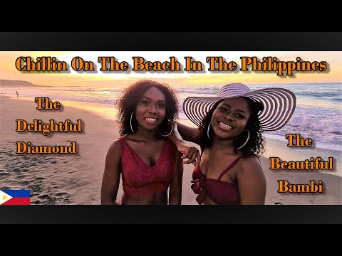 MEET THE BEAUTIFUL BAMBI & THE DELIGHTFUL DIAMOND - CHILLIN ON THE BEACH IN THE PHILIPPINES - 2021