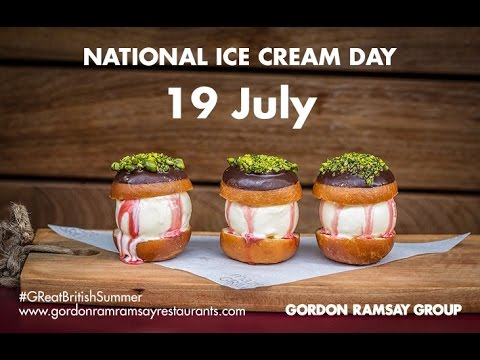 Celebrate National Ice Cream Day with Gordon Ramsay