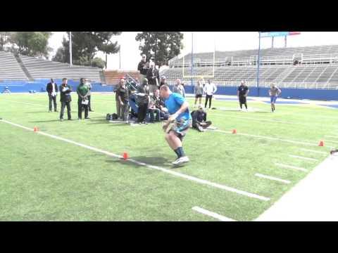 23 NFL Teams At San Jose State Pro Timing Day