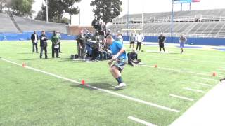 23 NFL Teams At San Jose State Pro Timing Day
